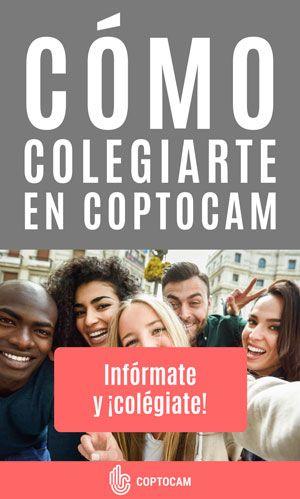 Cómo colegiarte en Coptocam