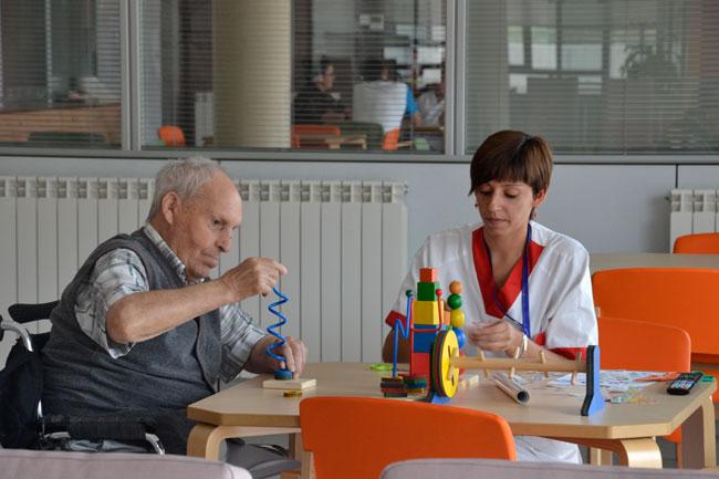 Terapia Ocupacional en geriatría.