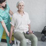 Sesión de Terapia Ocupacional con tercera edad